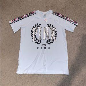NWT vs pink tshirt